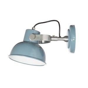 Modré nástěnné svítidlo Look4Lamps Office