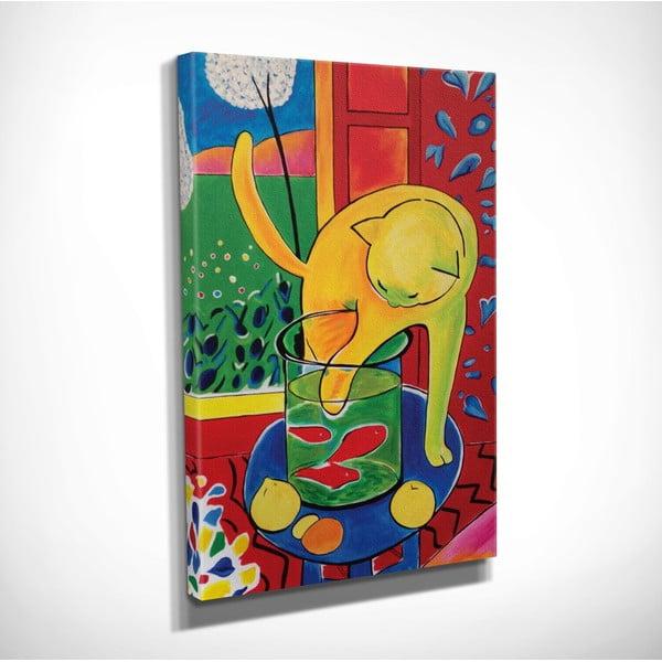 Vászon fali kép Henri Matisse másolat, 30 x 40 cm