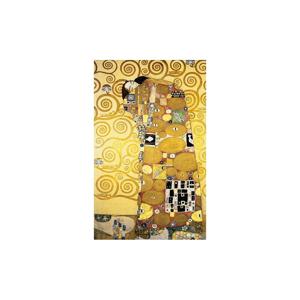 Reprodukce obrazu Gustav Klimt Fulfillment, 50 x 30 cm