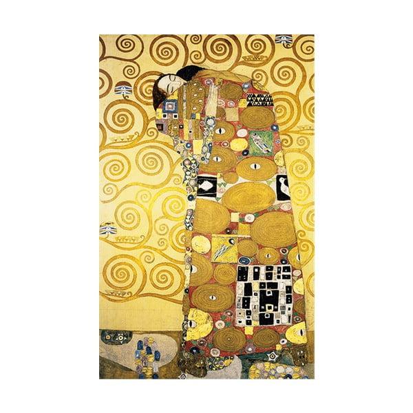 Reprodukce obrazu Gustav Klimt Fulfillment, 50x30cm