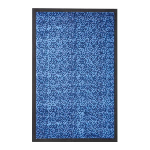 Modrá rohožka Zala Living Smart, 75x45cm
