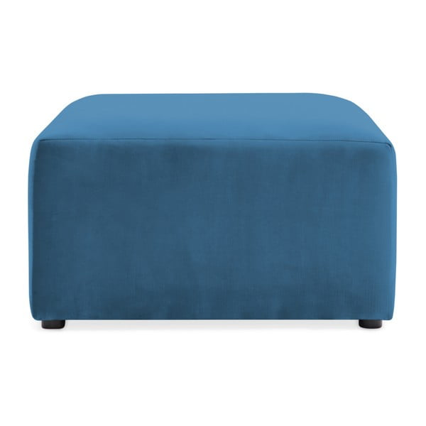 Modrá podnožka Vivonita Velvet Cube