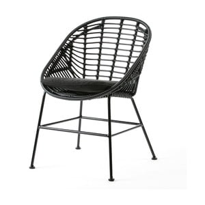 Černá  židle Thai Natura Cushion