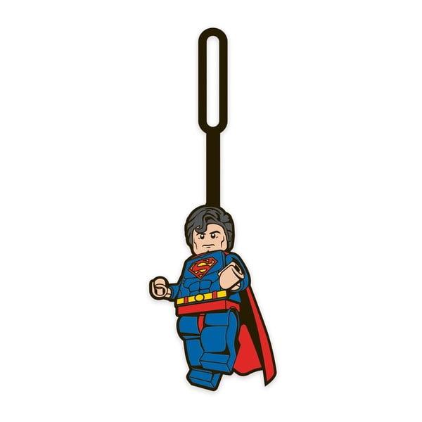 Etichetă pentru bagaj LEGO® DC Superman