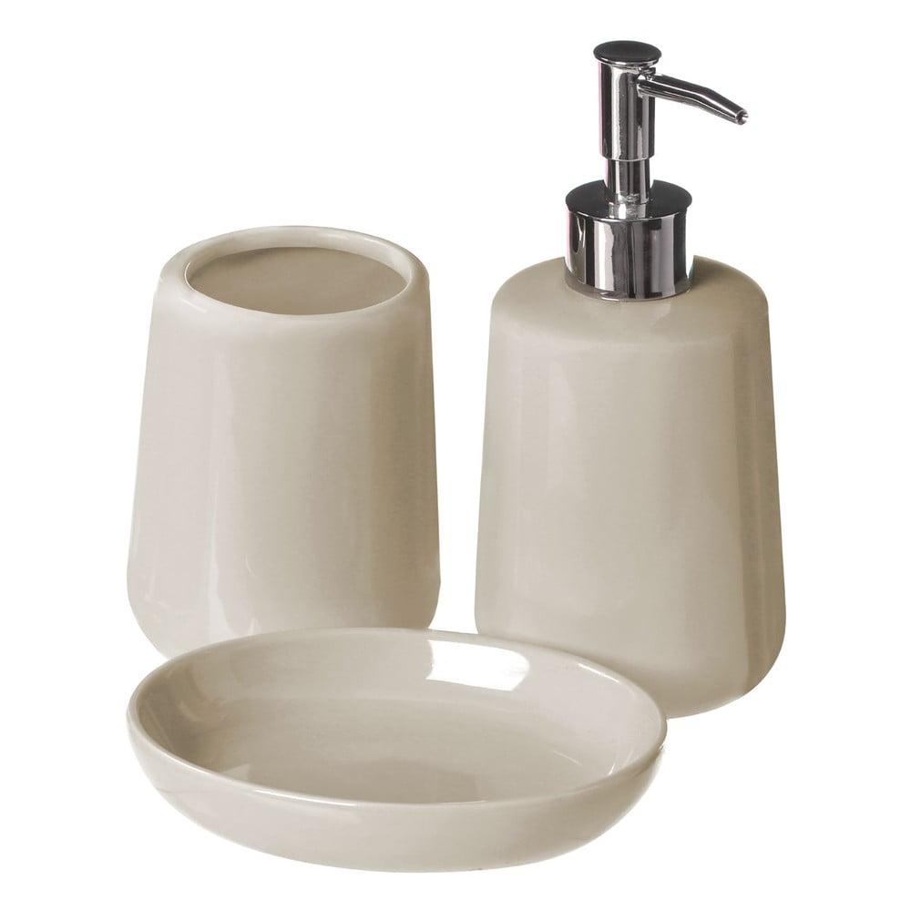 Béžový koupelnový set Premier Housewares Moon