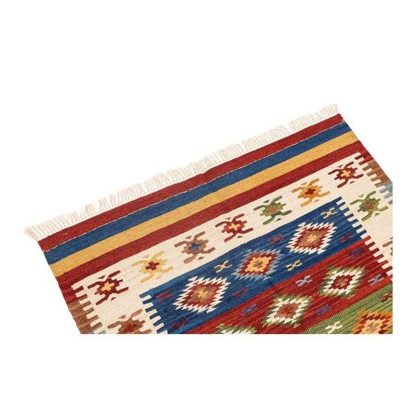 Ručně tkaný koberec Kilim Dalush 208, 150x90 cm