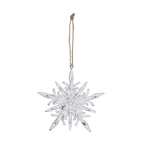 Závěsná vánoční dekorace na stromek Ego Dekor Misto Snowflake Small