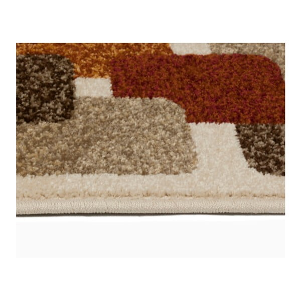 Hnědobéžový koberec Universal Boras, 67x250cm