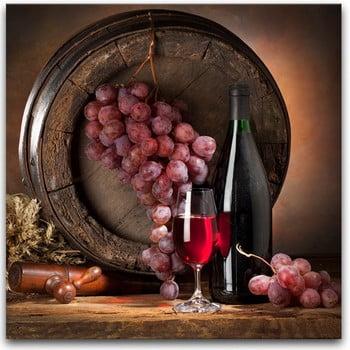 Tablou Styler Glasspik Wine IV, 30 x 30 cm imagine