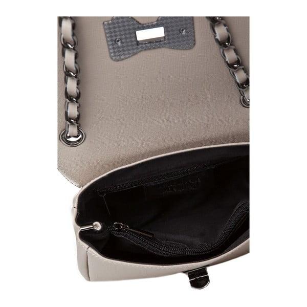 Kožená kabelka Bow Taupe