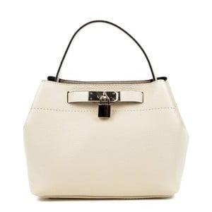 Béžová kožená kabelka Isabella Rhea Larmilo