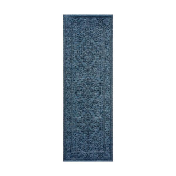 Tyros sötétkék kültéri szőnyeg, 70 x 200 cm - Bougari