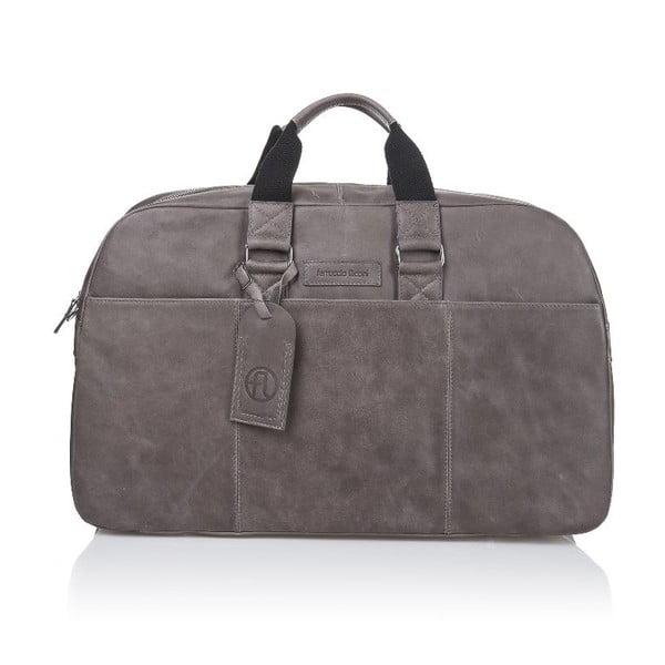 Pánská kožená taška Ferruccio Laconi 101 Grey