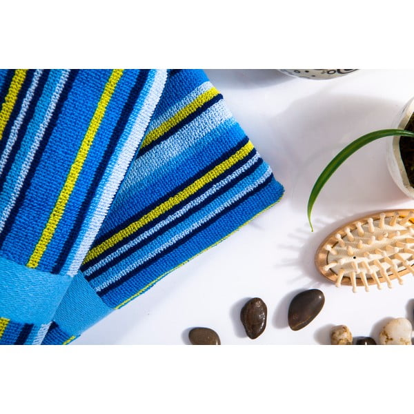 Sada 2 ručníků Liss Blue, 45x90 cm