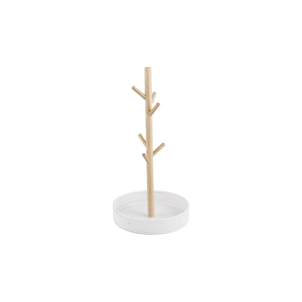 Dřevěný stojánek s bílou miskou na šperky PT LIVING Merge PT LIVING