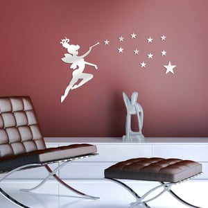 Zrcadlová nástěnná dekorace Fairy, 50x27cm