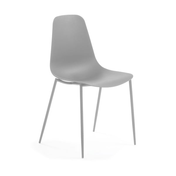 Szare krzesło La Forma Wassu