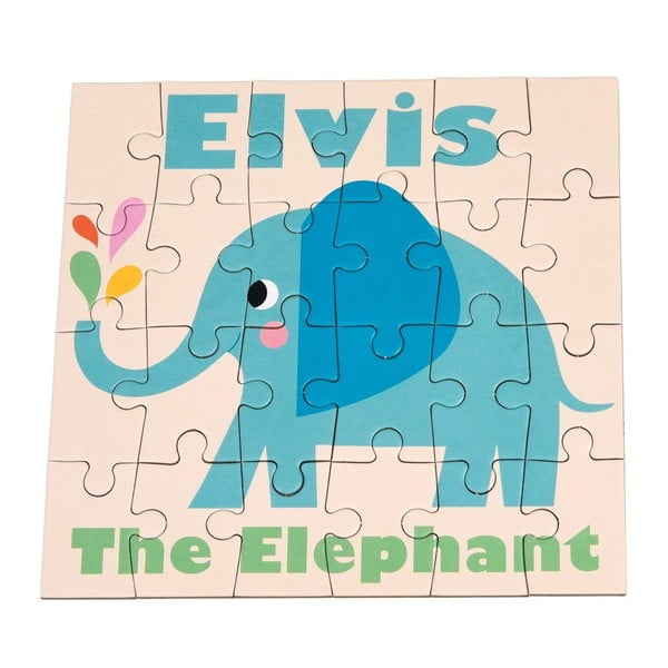 24-dielne puzzle Rex London Elvis The Elephant