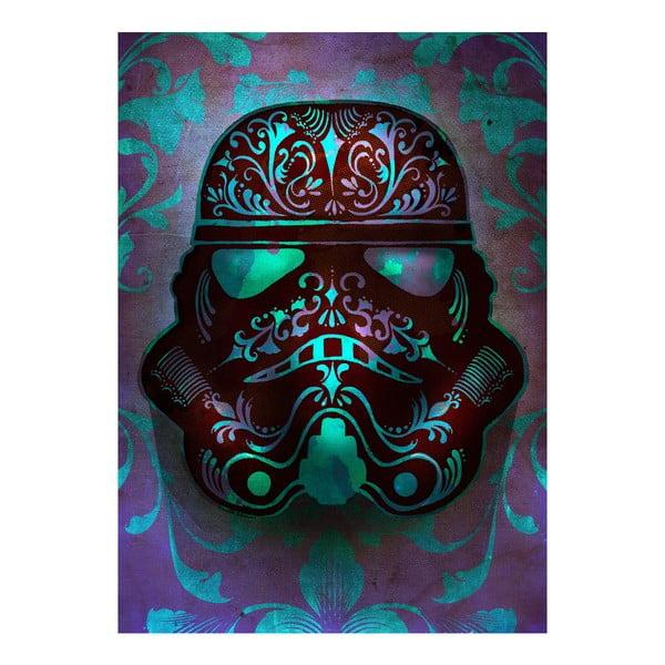 Plakat na blasze Masked Troopers - Fluid