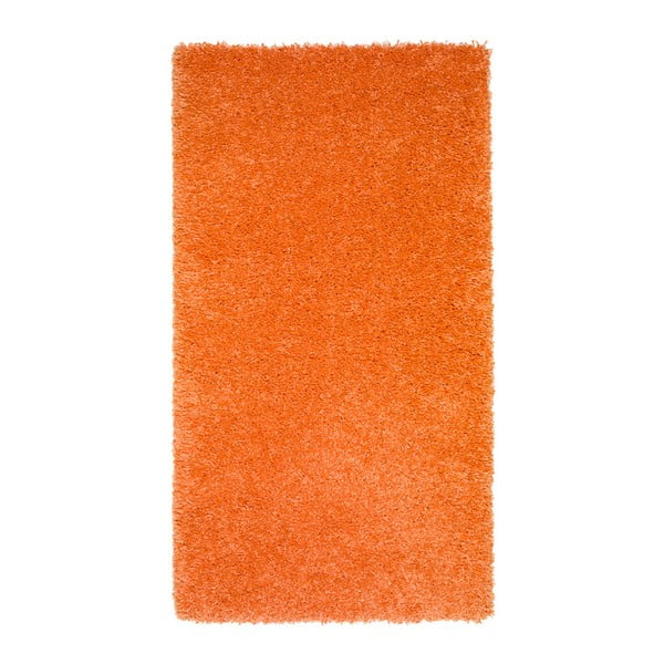 Oranžový koberec Universal Aqua Liso, 57 x 110 cm