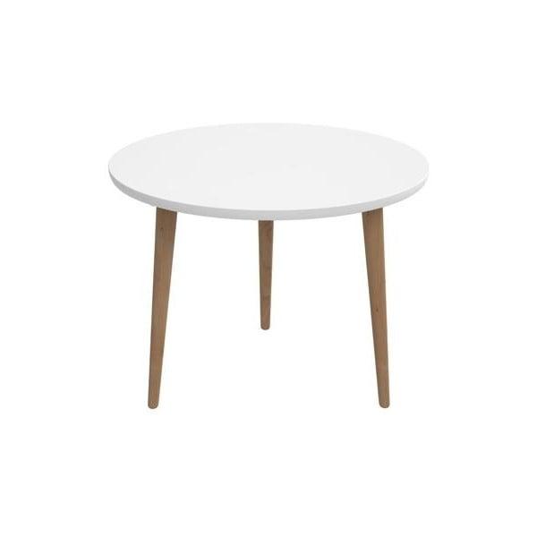 Bílý stůl D2 Bergen, 60 cm