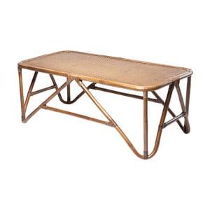 Ratanový konferenční stolek RGE Sismondi, 127 x 65 cm