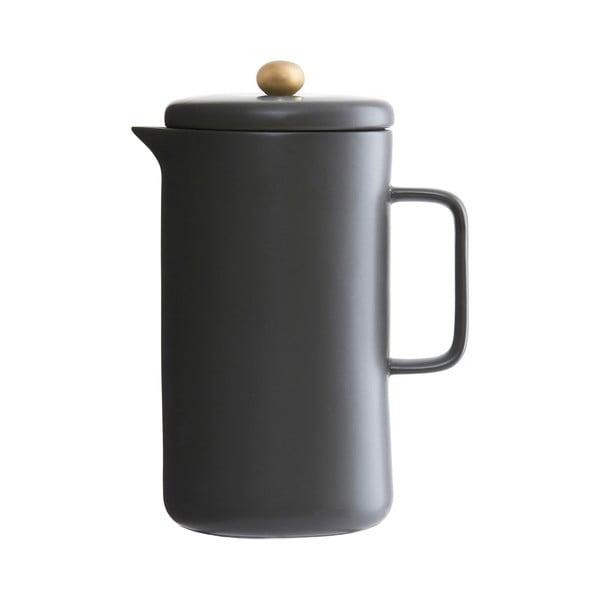 Porcelánová konvice Milky, černá