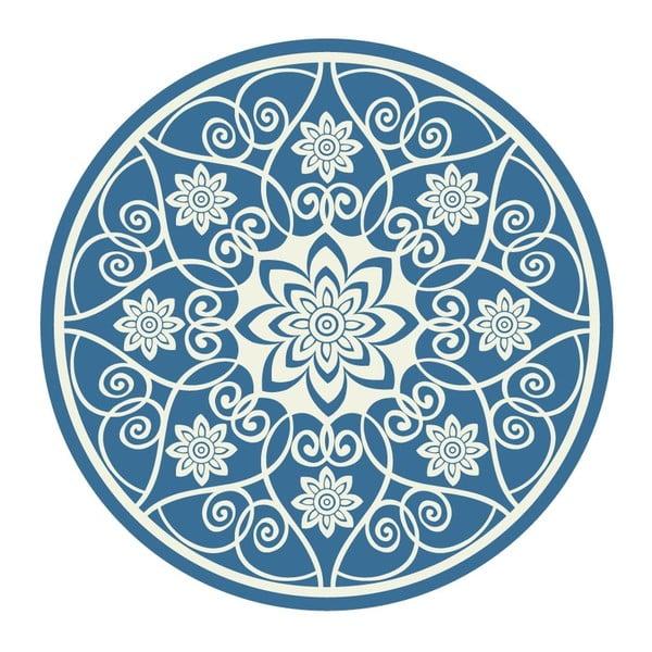 Samolepky Mandala White/Blue