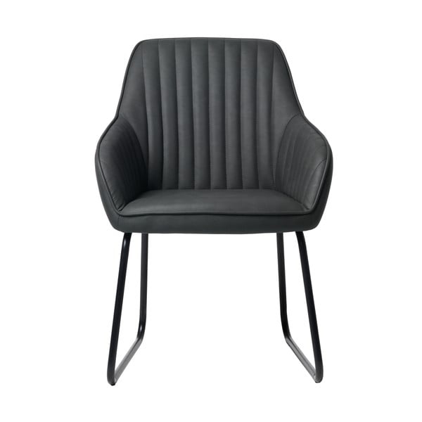 Šedá jídelní židle Unique Furniture Brooks