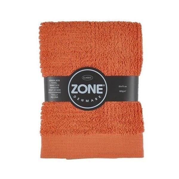 Oranžový ručník Zone 70x50 cm