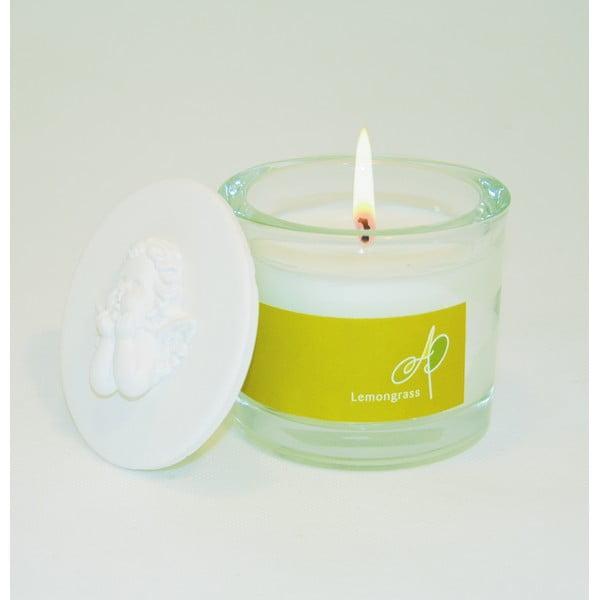 Aromatická svíčka THD Fragnances, voňatka citronová