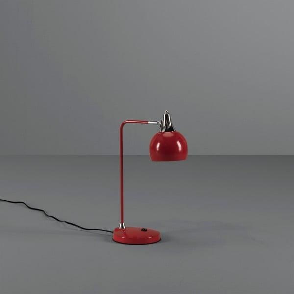 Červená stolní lampa Design Twist Papun