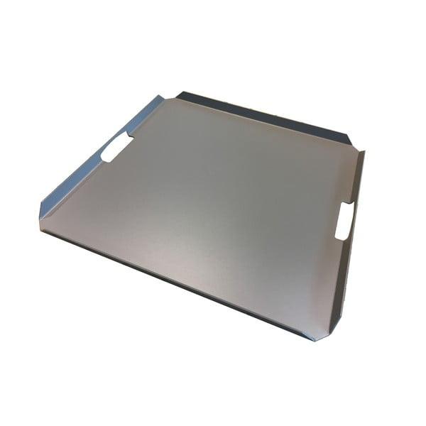 Tavă metalică dreptunghiulară Ezeis Typon, gri
