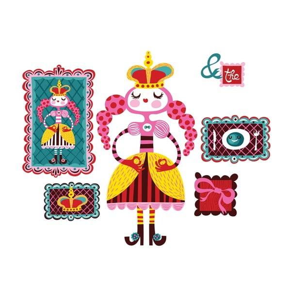 Znovu snímatelná samolepka Princess and The Pea