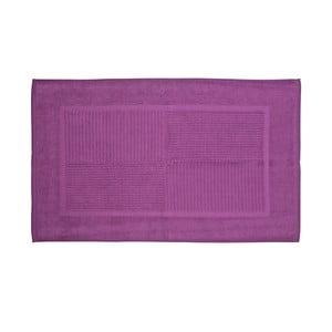 Koupelnová předložka, 80x50 cm, fialová