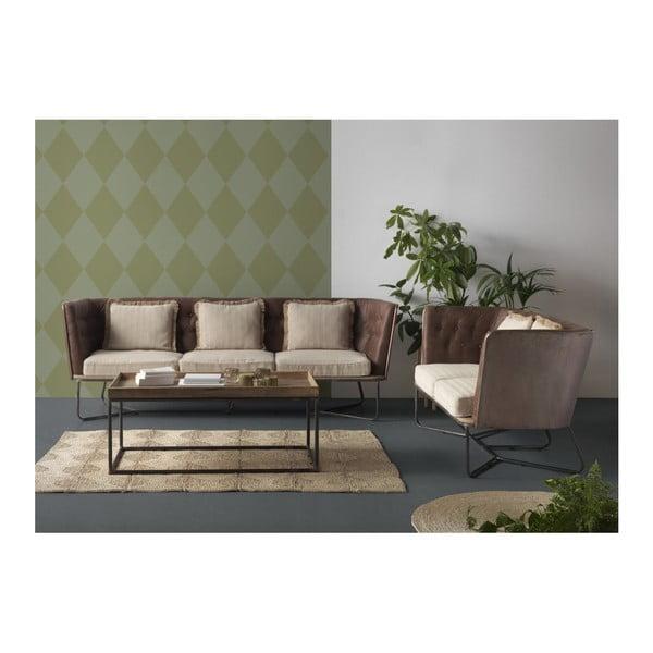 Canapea cu 2 locuri Geese, structură metalică
