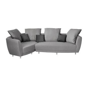 Canapea cu șezut pe partea stângă Florenzzi Viotti gri