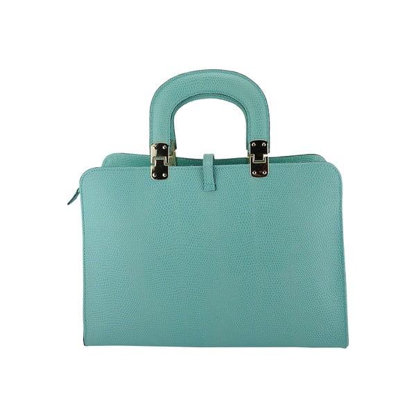 Kožená kabelka Carla Turquoise