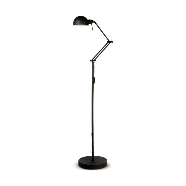 Černá volně stojící lampa Citylights Glasgow