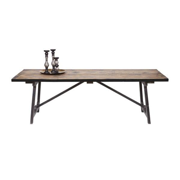 Jídelní stůl z masivního borovicového dřeva BePureHome Craft, 220x90cm