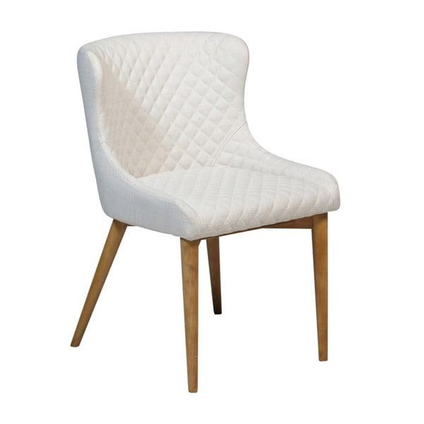 Krémová jídelní židle DAN-FORM Denmark Vetro