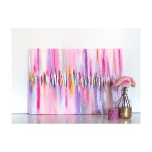 Obraz Pink Abstract, 50x70 cm