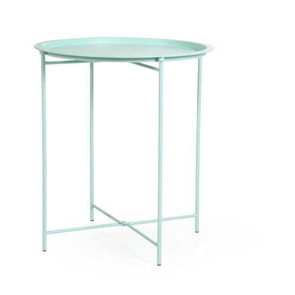 Zelený zahradní stolek Brafab Sangro, ∅46cm
