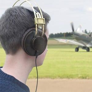 Sluchátka Royal Air Force