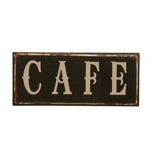 Dekorativní cedule Cafe