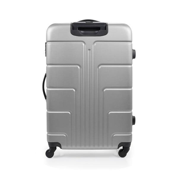 Sada 3 šedých kufrů na kolečkách BlueStarOttawa