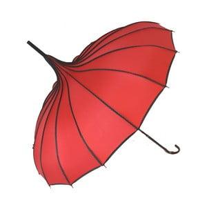 Červený deštník Soak Bebeig