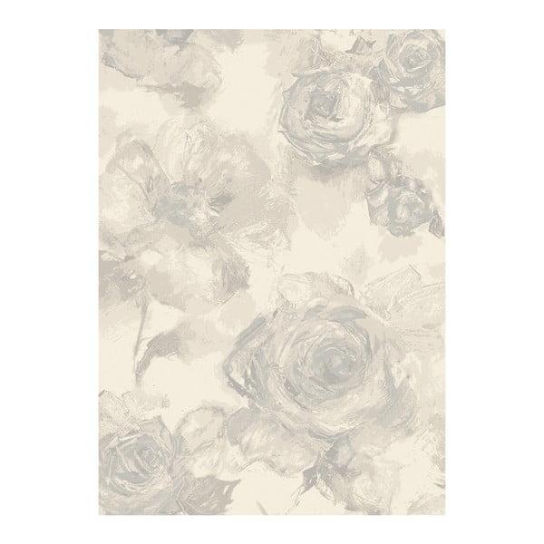 Koberec Asiatic Carpets Echo Water Floral Pearl, 120x170 cm