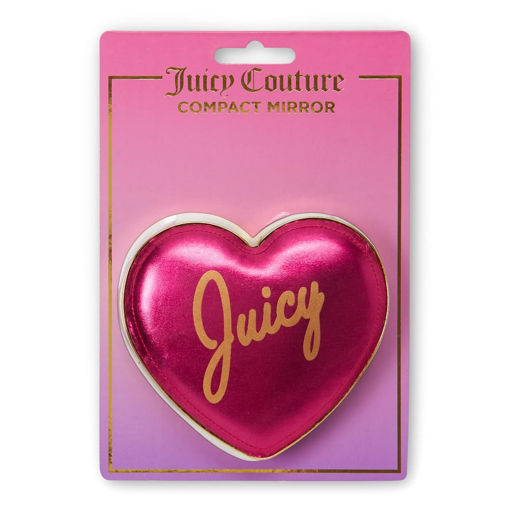 Kosmetické zrcátko ve tvaru srdíčka Tri-CoastalDesign Juicy Couture