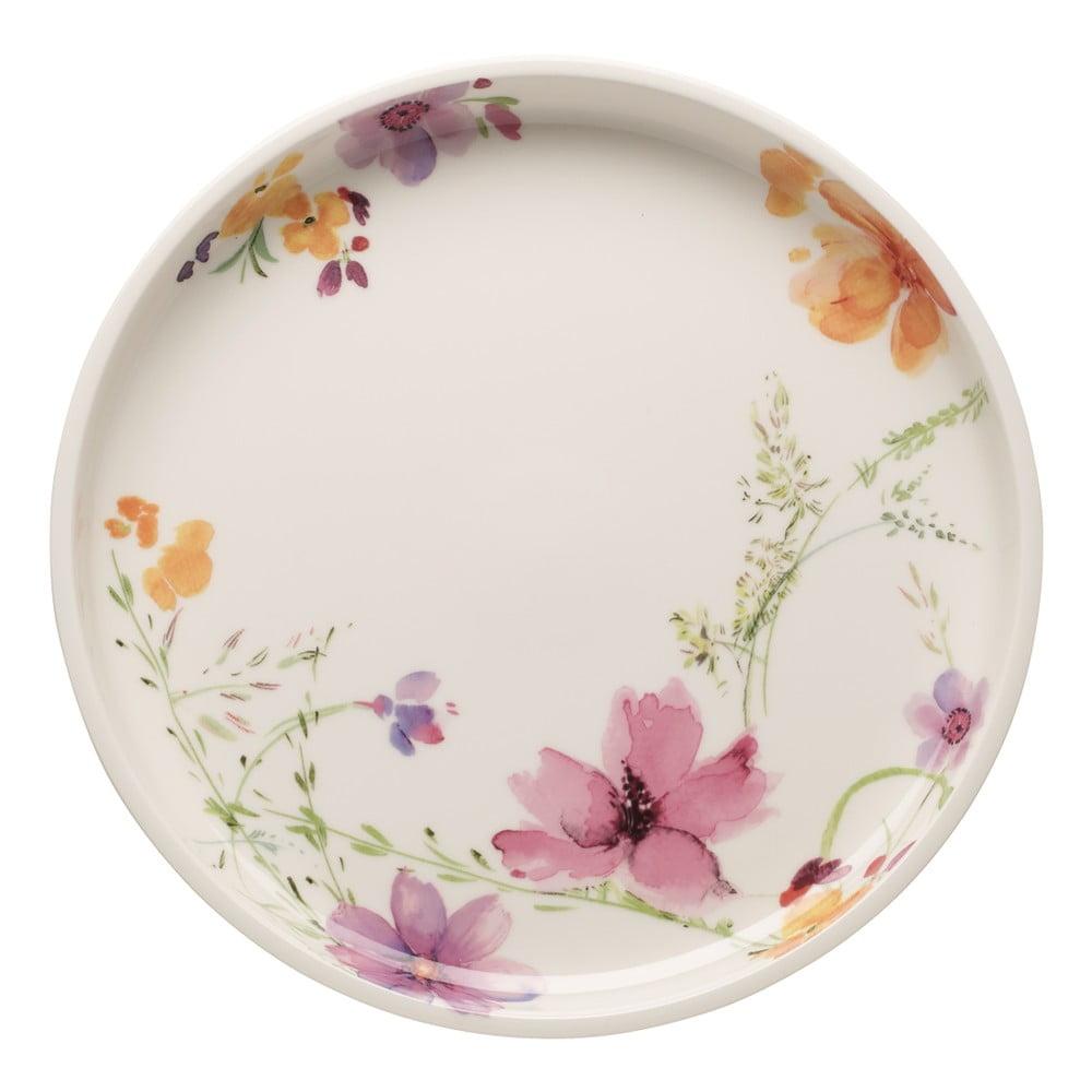 Servírovací porcelánový talíř s květinovými motivy Villeroy & Boch Mariefleur, 30 cm